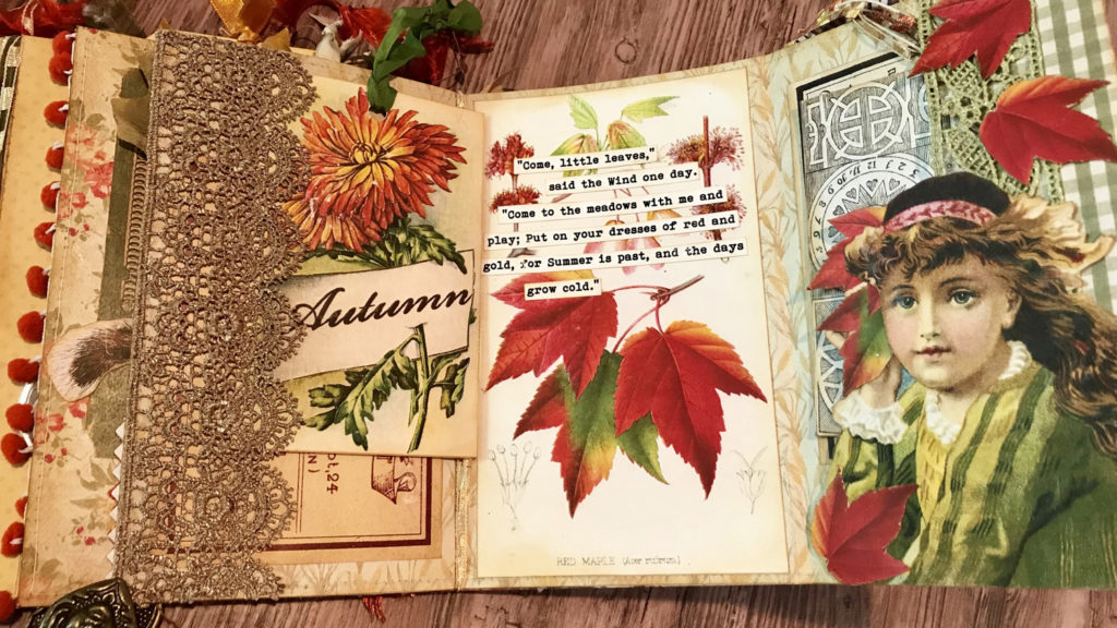 Fall Junk Journal quotes