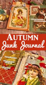 Fall Junk Journal Pin