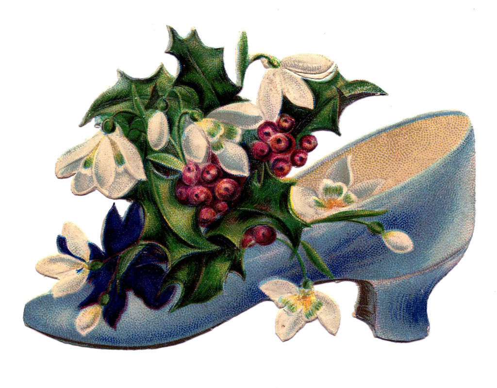 holly shoe vintage image