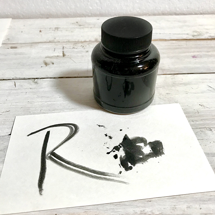 Homemade Black Ink