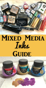 Mixed Media Inks Guide