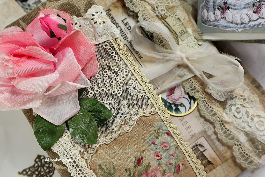 Lace and Roses Junk Journal