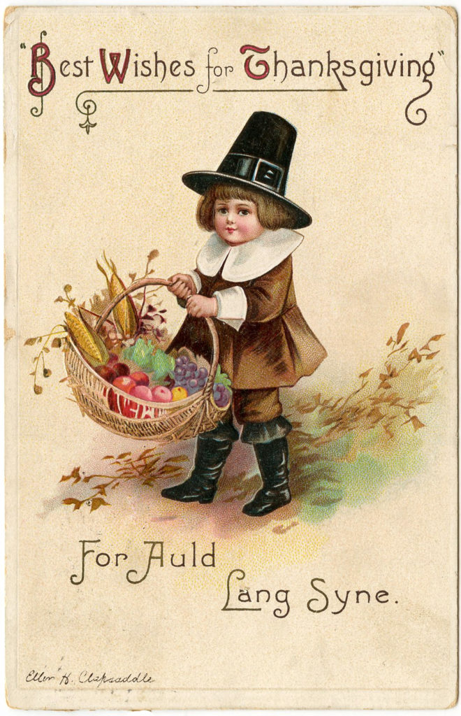 Thanksgiving Pilgrim Boy