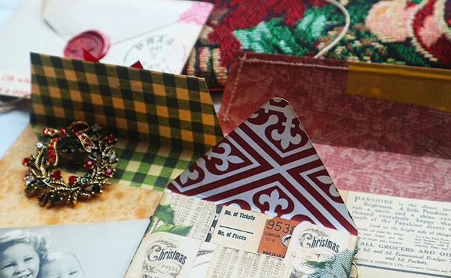 Mini envelopes junk journal