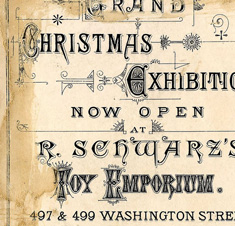 Christmas Exhibition ad