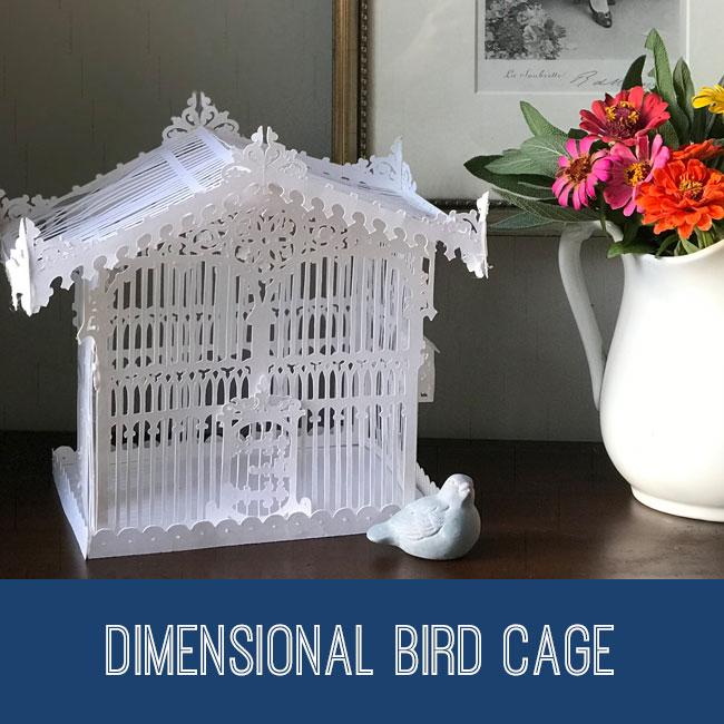 Dimensional Bird Cage Tutorial