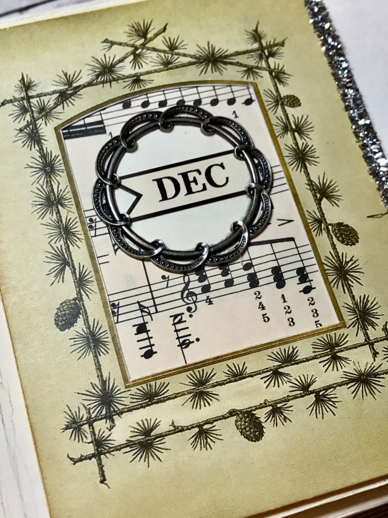 December Memory Page