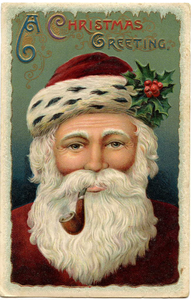 Best Santa Face Image