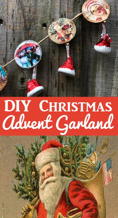 DIY Christmas Advent Calendar pin
