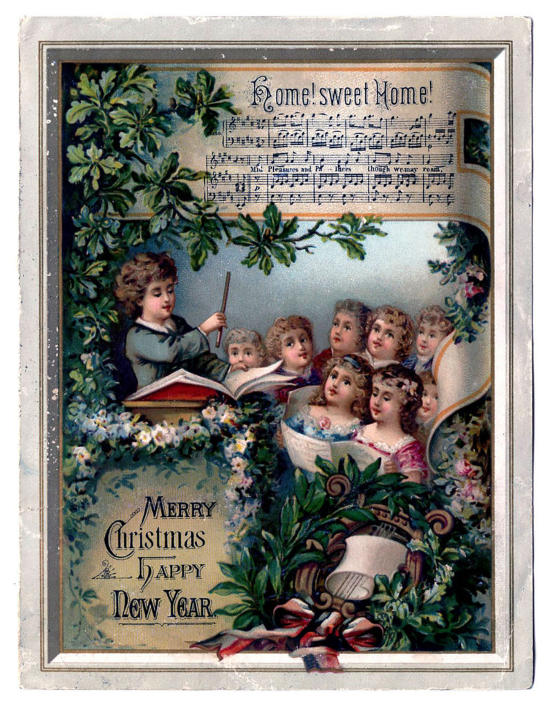 Christmas choir children image