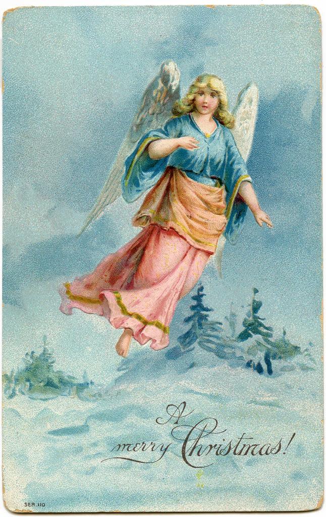 Christmas Pastel Angel