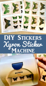 DIY Stickers with Xyron Sticker Machine