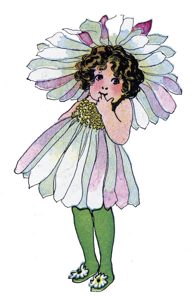 daisy girl flower image