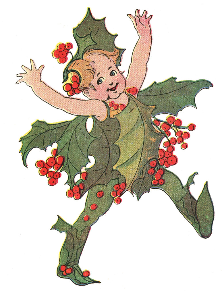 flower fairy holly image