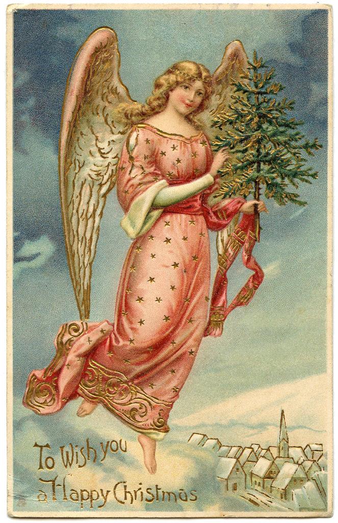 Golden Tree Angel