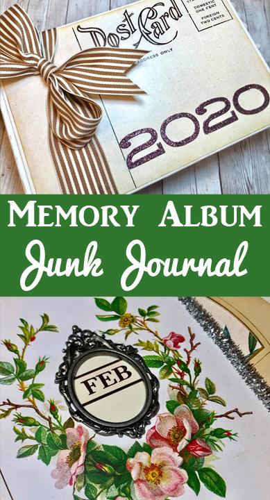 Memory Album 2020 Junk Journal