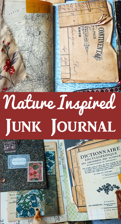 Nature Inspired Junk Journal