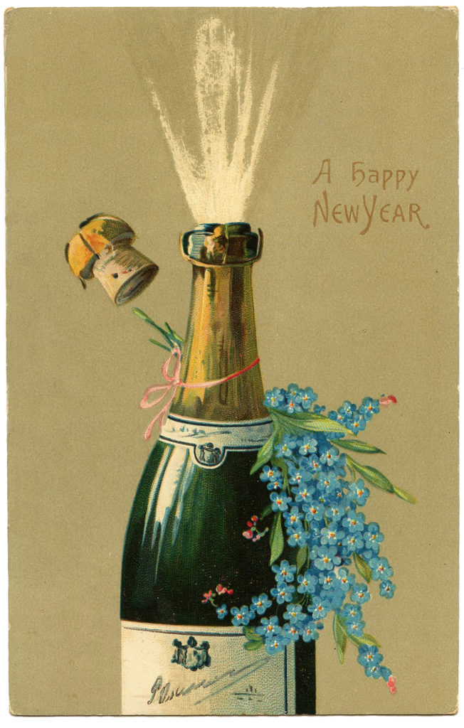 New Years Champagne Image
