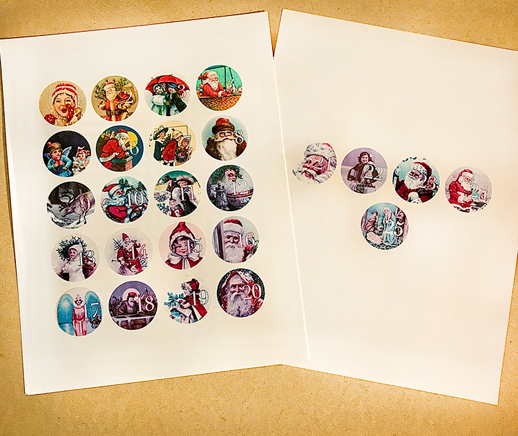 Printable Images for Advent Calendar
