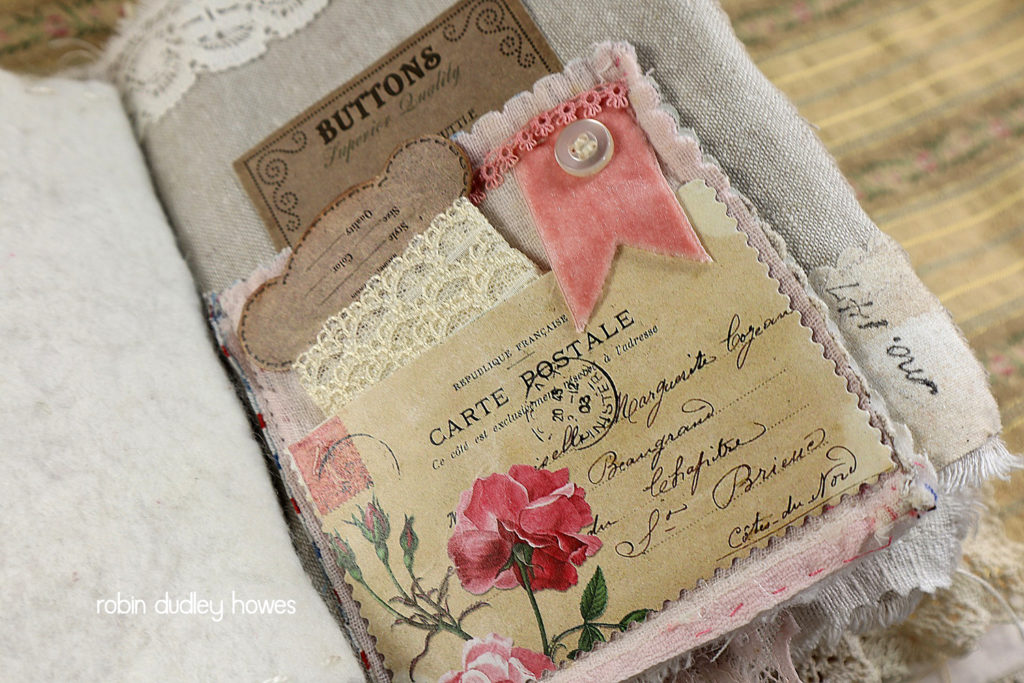 Roses and Bees Pocket