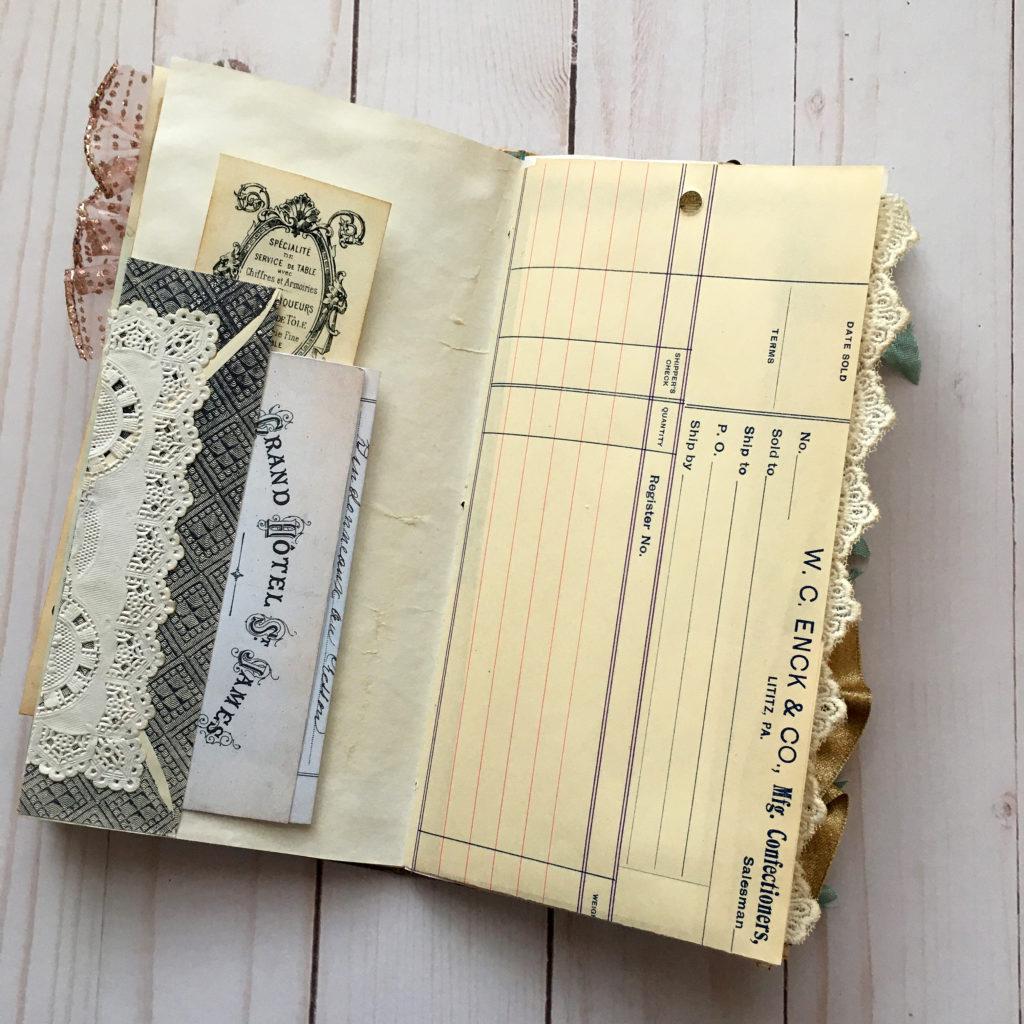 Vintage Envelope Liner Junk Journal