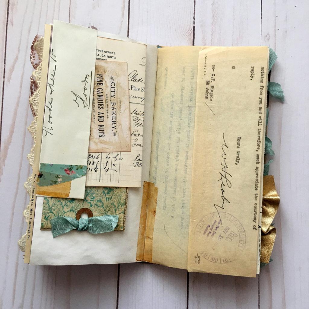 Ephemera Page Layout Journal
