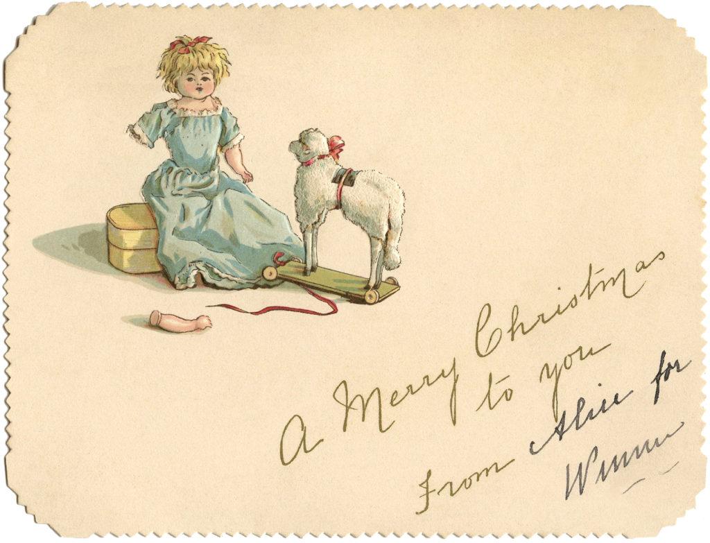 vintage misfit toys doll Christmas image