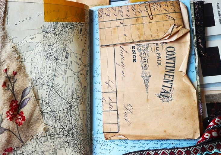 Luna Rozu Junk Journal Ephemera