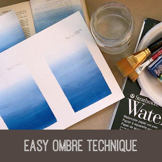 Easy Ombre Technique Tutorial