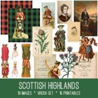 scottish highlands ephemera bundle