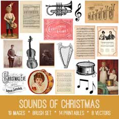vintage sounds of music ephemera bundle