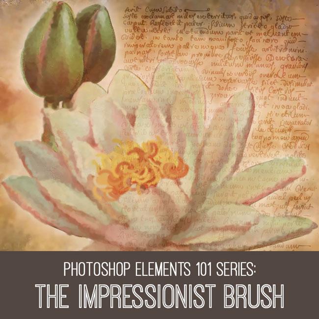 PSE Tutorial The Impressionist Brush