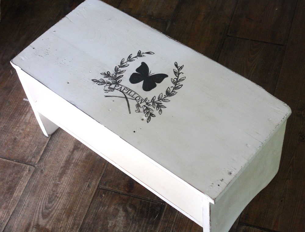 Chalk Paint Transfer Furniture