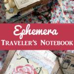 Personal Travelers Notebook