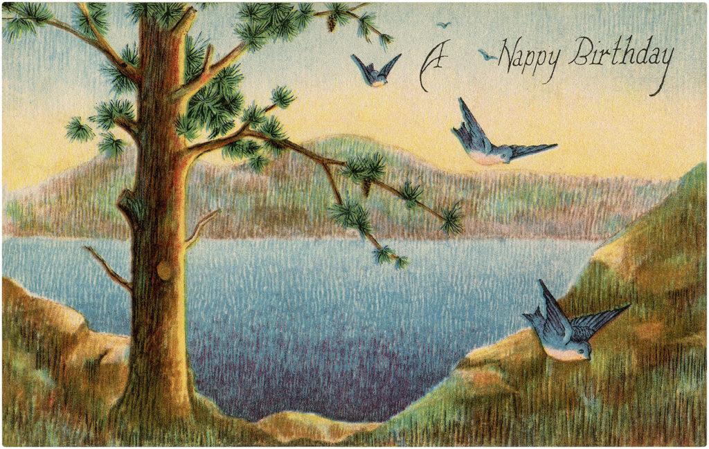 Happy Birthday Landscape Images