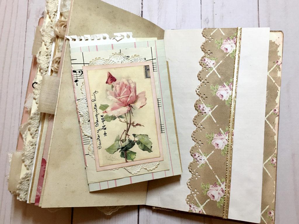 Springtime Journal Page