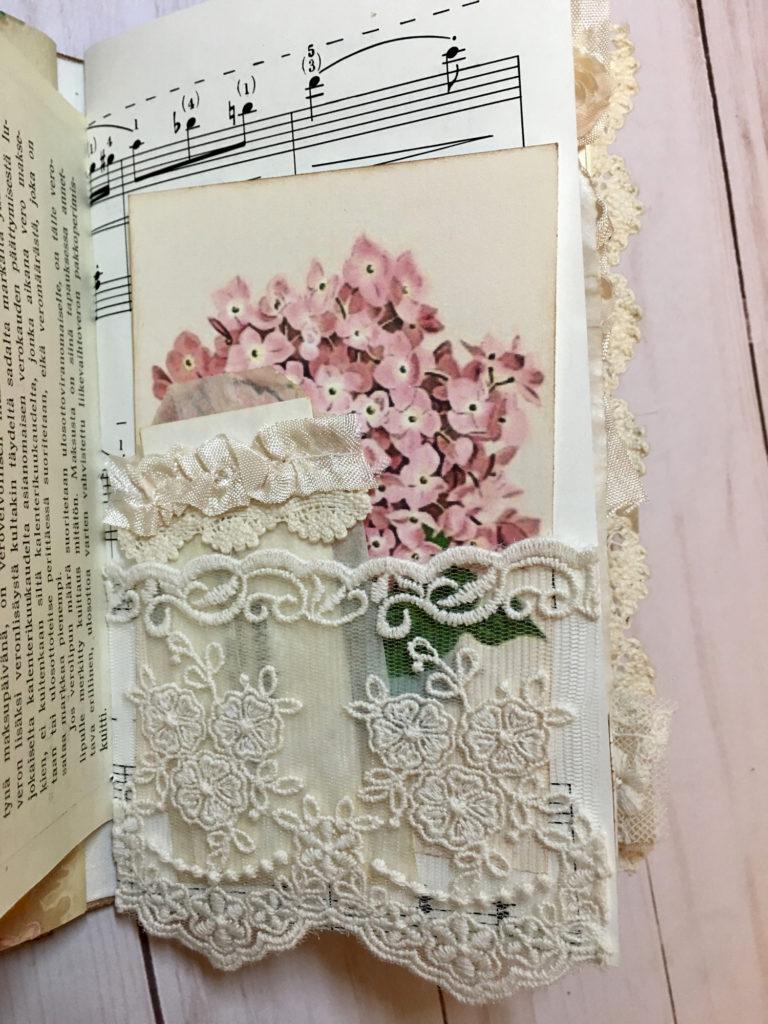 Springtime Journal Lace Pocket
