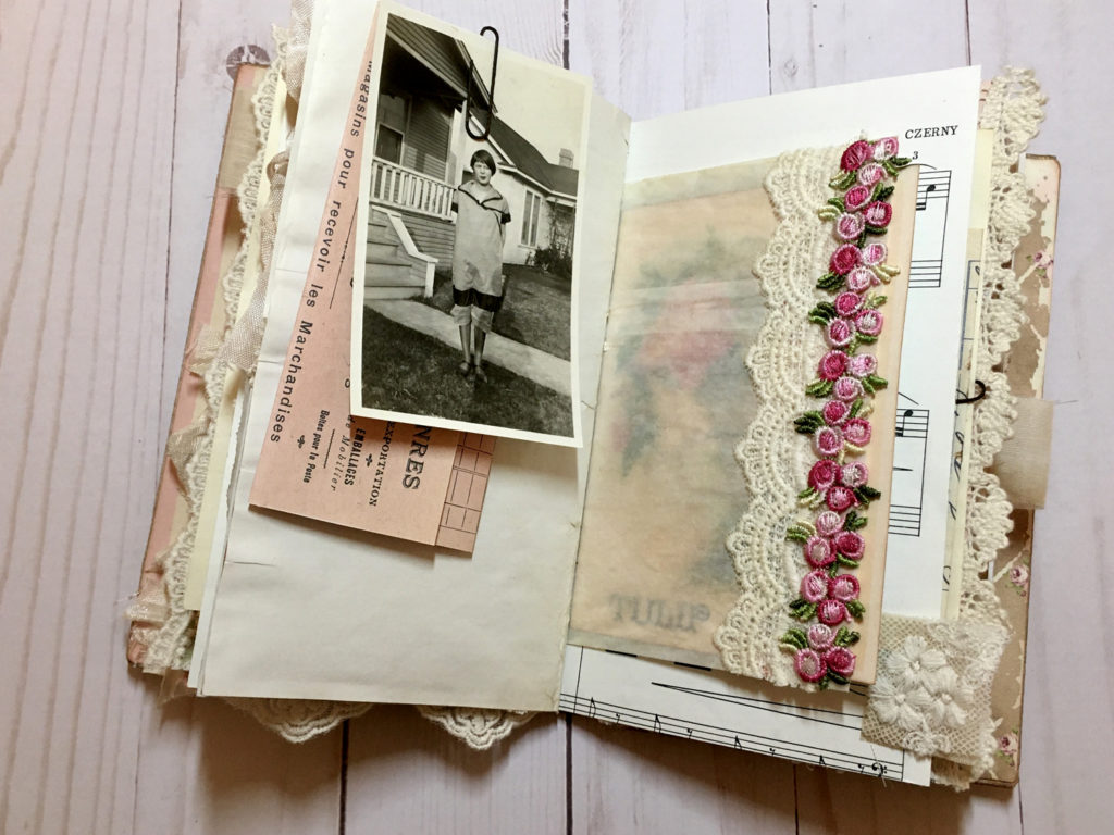 Springtime Journal Page Layout