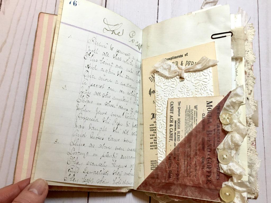 Vintage Junk Mini Booklet