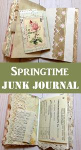 Springtime Junk Journal