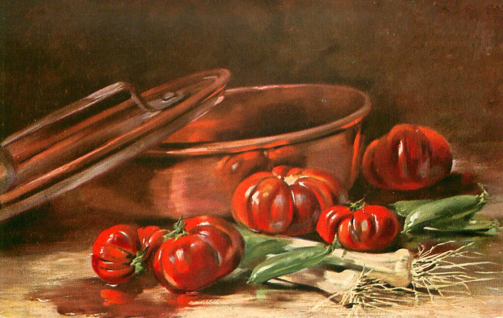 Tomato Leeks Image