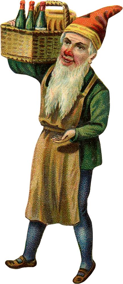 Vintage Gnome Image