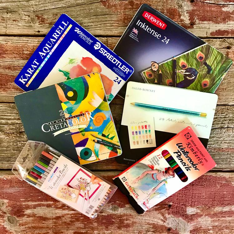 Watercolor Pencil Brands