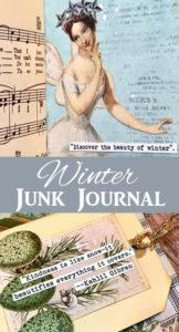 Winter Junk Journal Pin