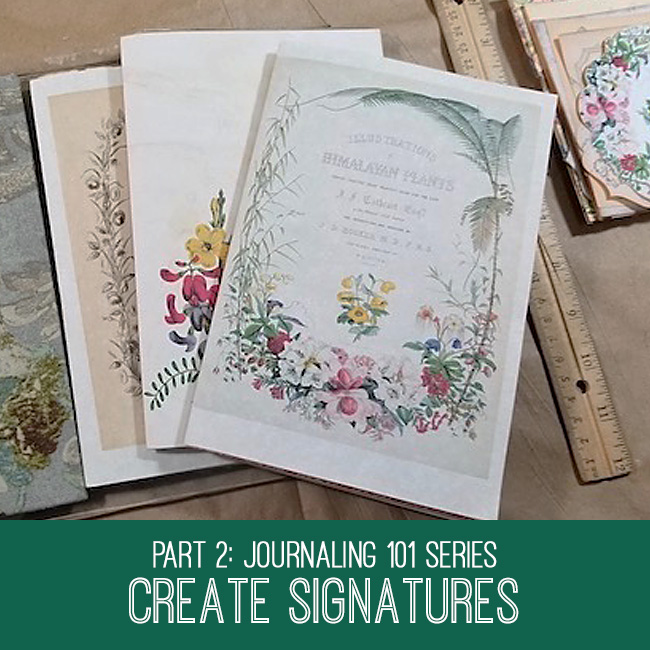 Journaling 101 Series Create Signatures