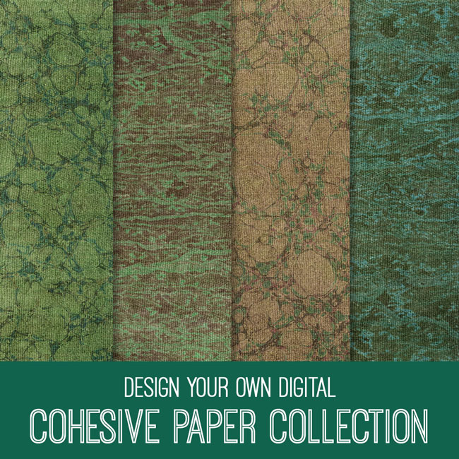 PSE Tutorial Design your Own Digital Cohesive Paper Collection