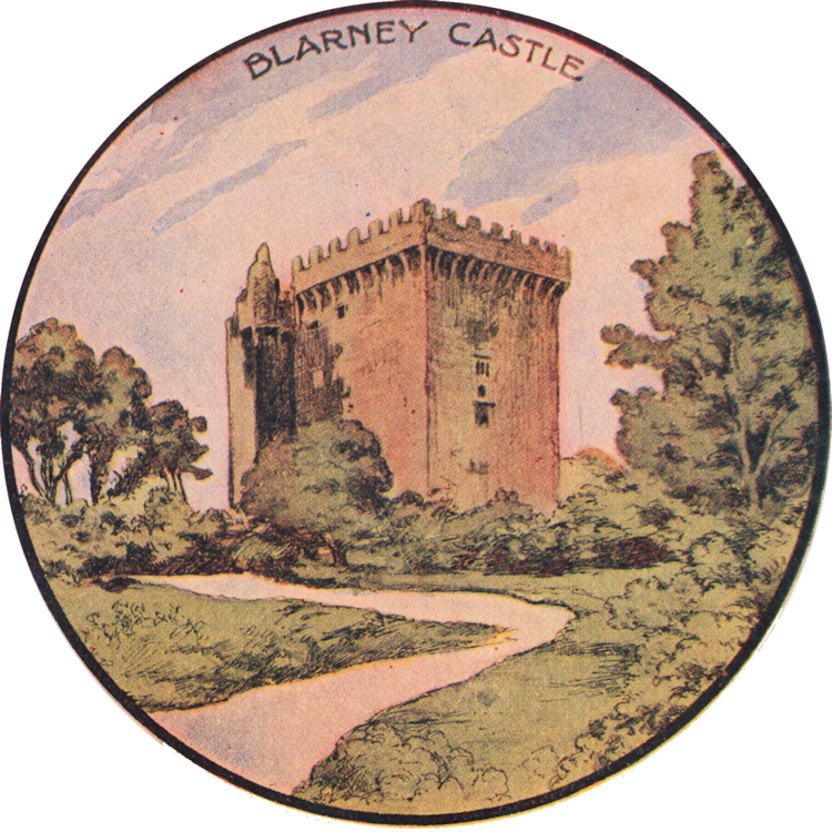 Blarney Castle Illustration