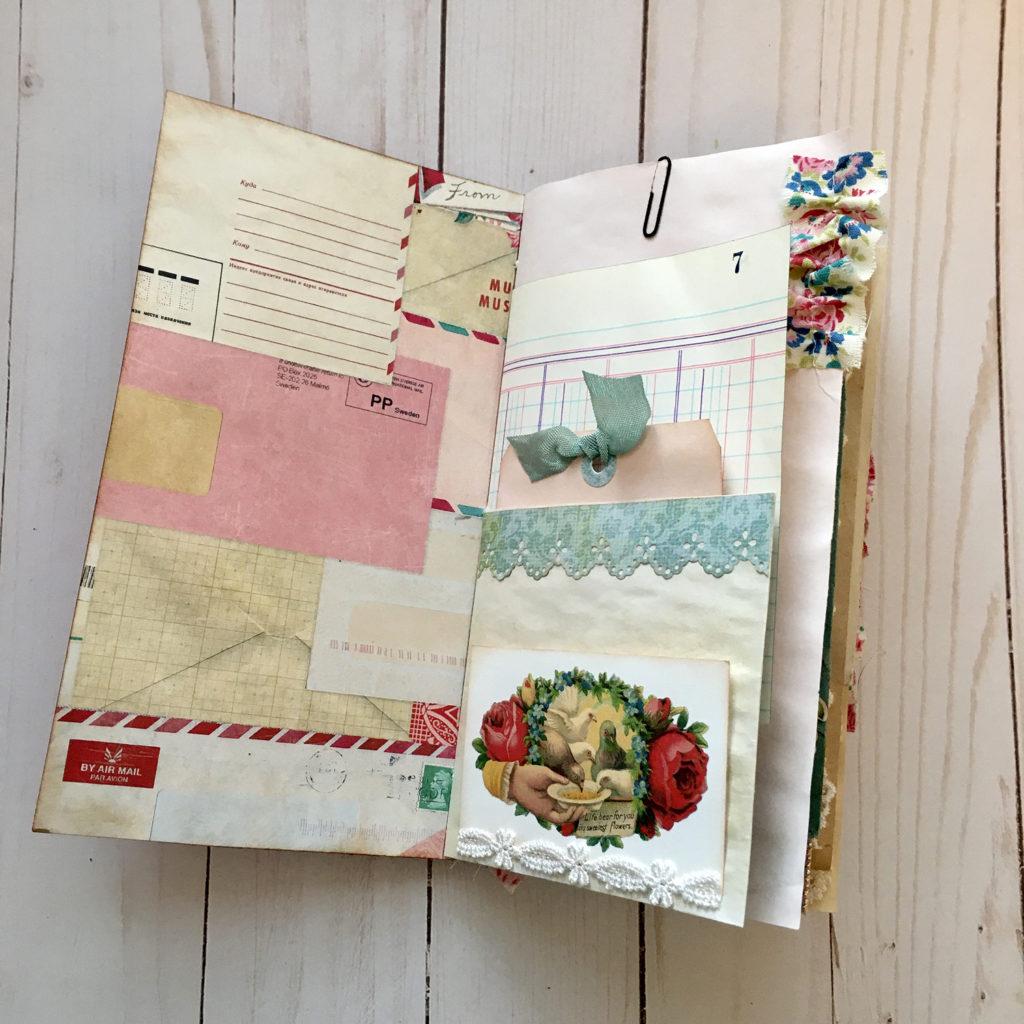 Shabby Love Ephemera Journal
