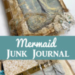 Mermaid Junk Journal Pin