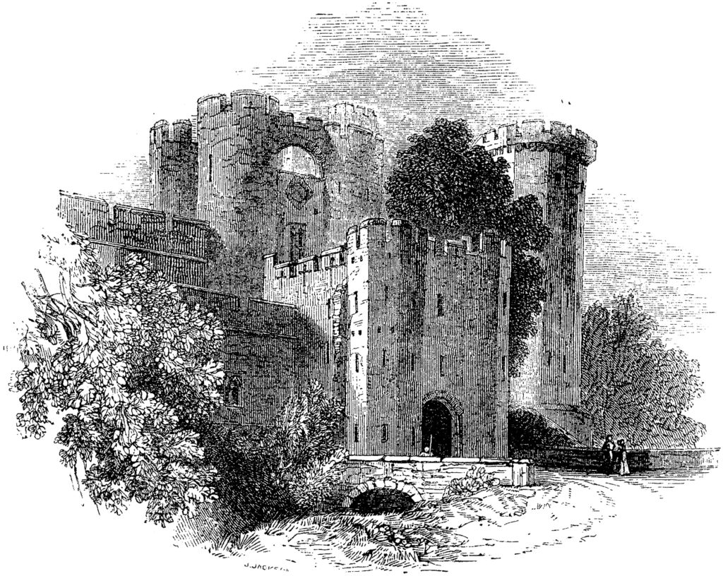 Old Castle Clipart